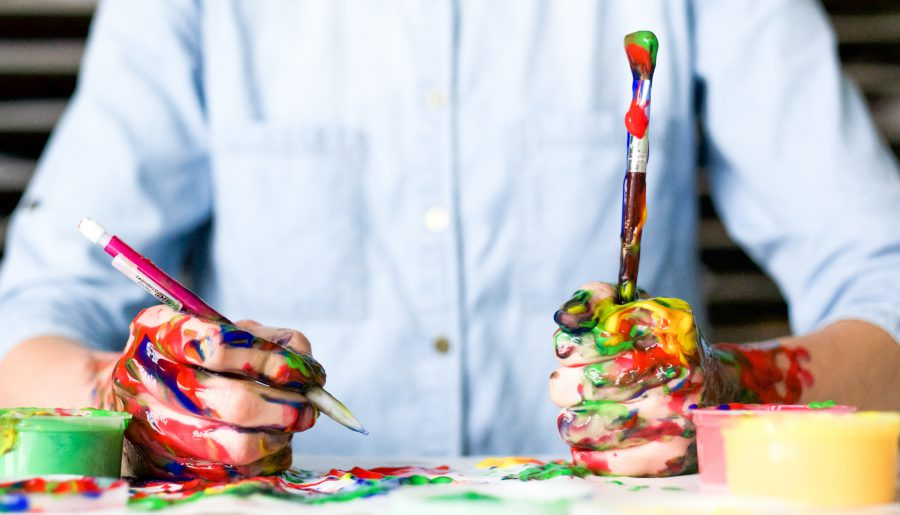 Creativity and painting