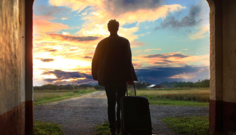 Partire con la valigia e mobilità