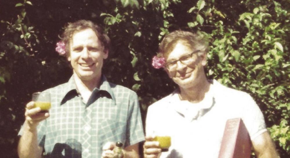 Una foto di Amos Tversky e Daniel Kahneman
