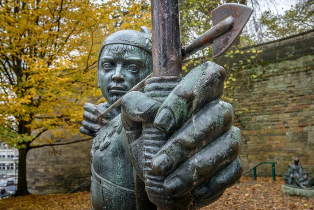 Statua di un Arciere